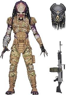 "NECA - Predator (2018) - 7"" Scale Action Figure - Ultimate Emissary #1"