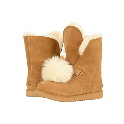 UGG Kids Isley Waterproof (Little Kid/Big Kid) (Chestnut) Girls Shoes