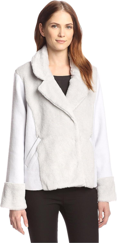 ByTiMo Women's Faux Fur Jacket