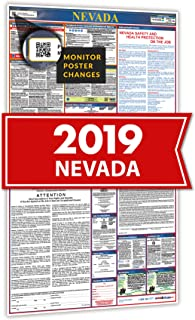 2019 Nevada All In One Labor Law Posters for Workplace Compliance