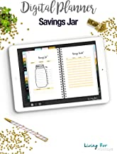 Digital Journal Savings Jar for your Digital Planner (GoodNotes): Develop a Savings Habit and reach your Goals!