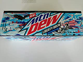Mtn Dew Liberty Brew 12oz Cans (12 Pack)