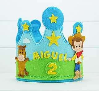 Corona Cumpleaños Toy Story