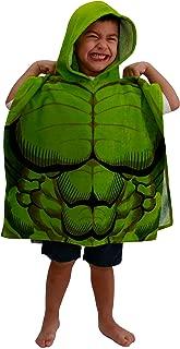 Jay Franco Avengers Hulk Hooded Bath/Beach Poncho Towel,