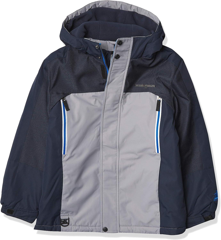 ZeroXposur boys 3 in 1 Winter Jacket Fleece Lined Hooded Winter Boys Coat