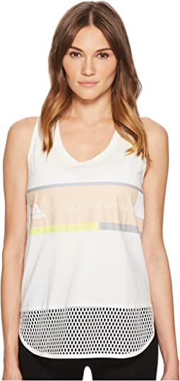 adidas by Stella McCartney Essentials Logo Graphic Tank Top CW0442