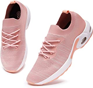 DYKHMATE Chaussures de Sport Homme Femme Legere Gym Fitness Sport Sneakers Respirante Style Running Baskets