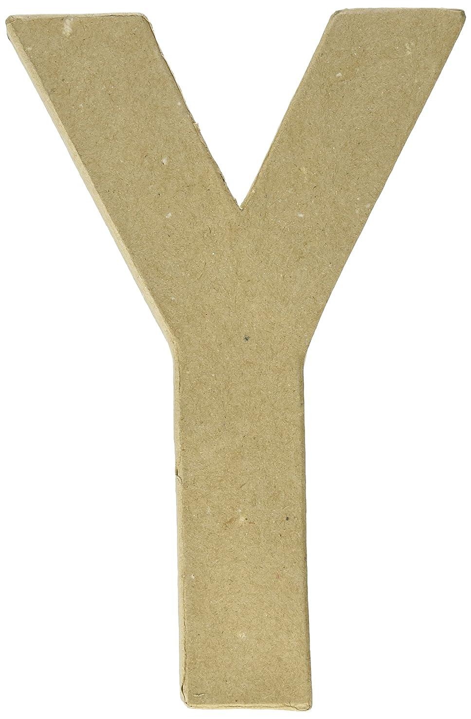 Craft Ped Paper CPL1006251-Y.K Mache Letter Y Kraft 8