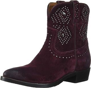 حذاء غربي قصير للنساء من FRYE، برقوق، 6. 5 M US