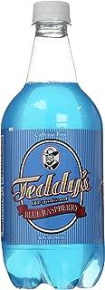 Teddy's Soda Hand Crafted Soda, Blue Raspberry, 26 Fluid Ounce (Pack of 15)