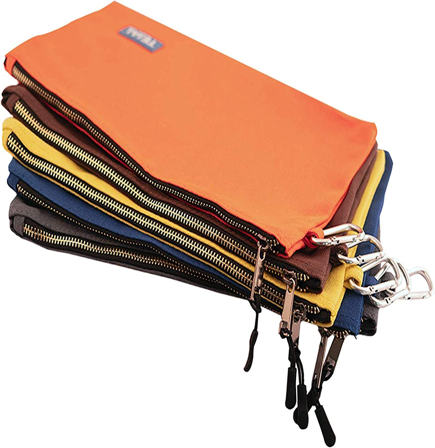 TEJAL Utility Easy-to-use Canvas Zipper Tool Jacksonville Mall Bag wi Pouch Heavy Duty - Tools