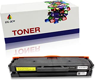 Big Dew 1 Pack MLT-D101S Compatible Toner Cartridge Replacement for Samsung ML-2165W SCX-3405FW SF-760P ML-2160 ML-2165W Printers