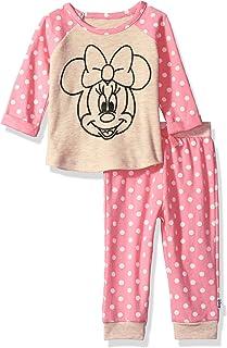 Disney - Juego de 2 Piezas de Jogger para niña con diseño de Minnie Mouse