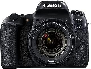 Canon EOS 77D 24.2MP Digital SLR Camera + EF-S 18-55 mm 4-5.6 is STM Lens/Camera Case