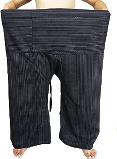 Lovely Plus Fisherman Wrap Pants Plus Size Mens Womens Casual Yoga Pants Waist 74