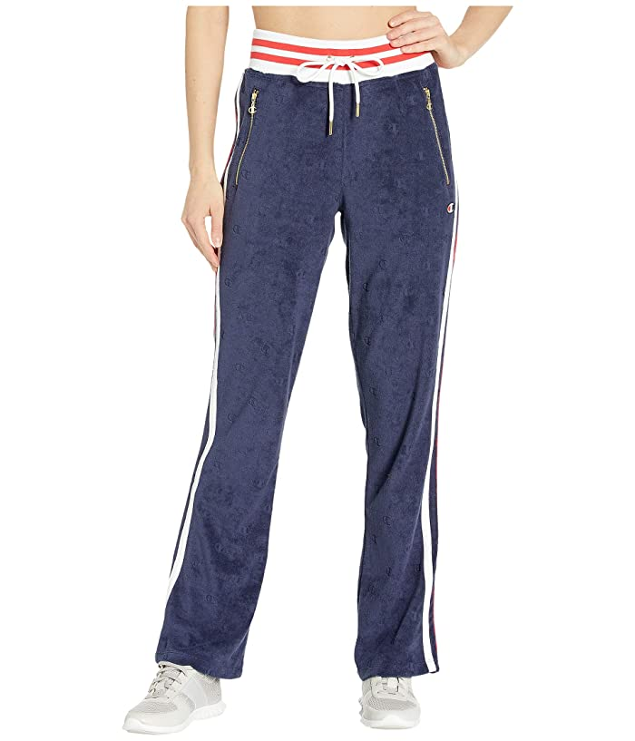 Champion LIFE Terry Cloth Warm Up Flare Pants (Imperial Indigo) Women