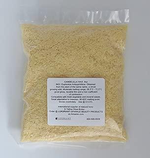 Candelilla Wax 100% Natural-Vegan Alternative to Beeswax-8 oz