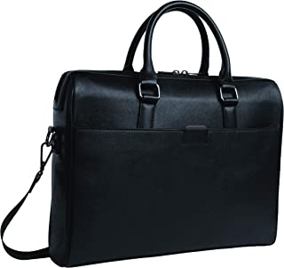 Stylish Office bag with quick access compartments/Mens Classic Briefcase, Laptop Bag, PU Leather Waterproof Business Brief...