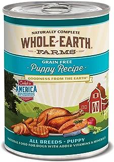 Whole Earth Farms Grain Free Canned Dog Food, 12.7 oz, 12 count