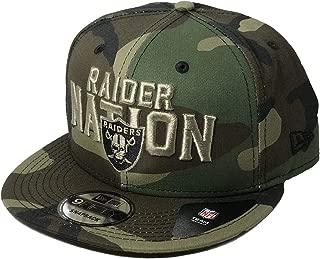 New Era Exclusive Authentic Raiders Raider Nation Snapback Hat Limited Edition- Adjustable
