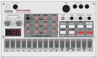 KORG デジタル サンプラー volca sample シンセサイザー 電池駆動 スピーカー内蔵 ヘッドフォン使用可 どこでも使えるコンパクトサイズ
