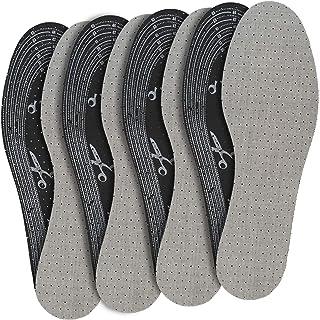 jaQob Solette scarpe, piedi traspiranti con carbone attivo e leggera profumazione - Soletta scarpe piedi traspiranti, suol...
