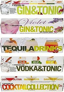 Té Tonic 5 Nano Bundle cadaeu set - 30 piramidevormige theezakjes voor het op smaak brengen van de meest populaire cocktails
