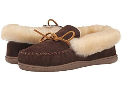 Minnetonka Alpine Sheepskin Moc (Chocolate) Women