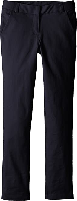 Straight Leg Stretch Twill Pants (Big Kids)