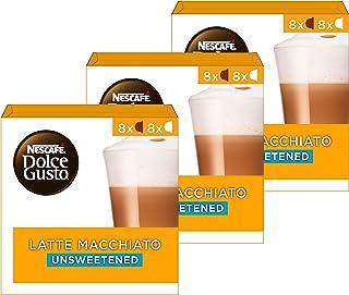 Nescafé Dolce Gusto capsules Latte Macchiato Unsweetened- 48 koffiecups - geschikt voor 24 koppen koffie - Dolce Gusto cups