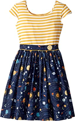 Space Maddy Dress (Big Kids)