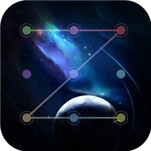 Galaxy Space Lock Screen : Galaxy Theme Lock Screen