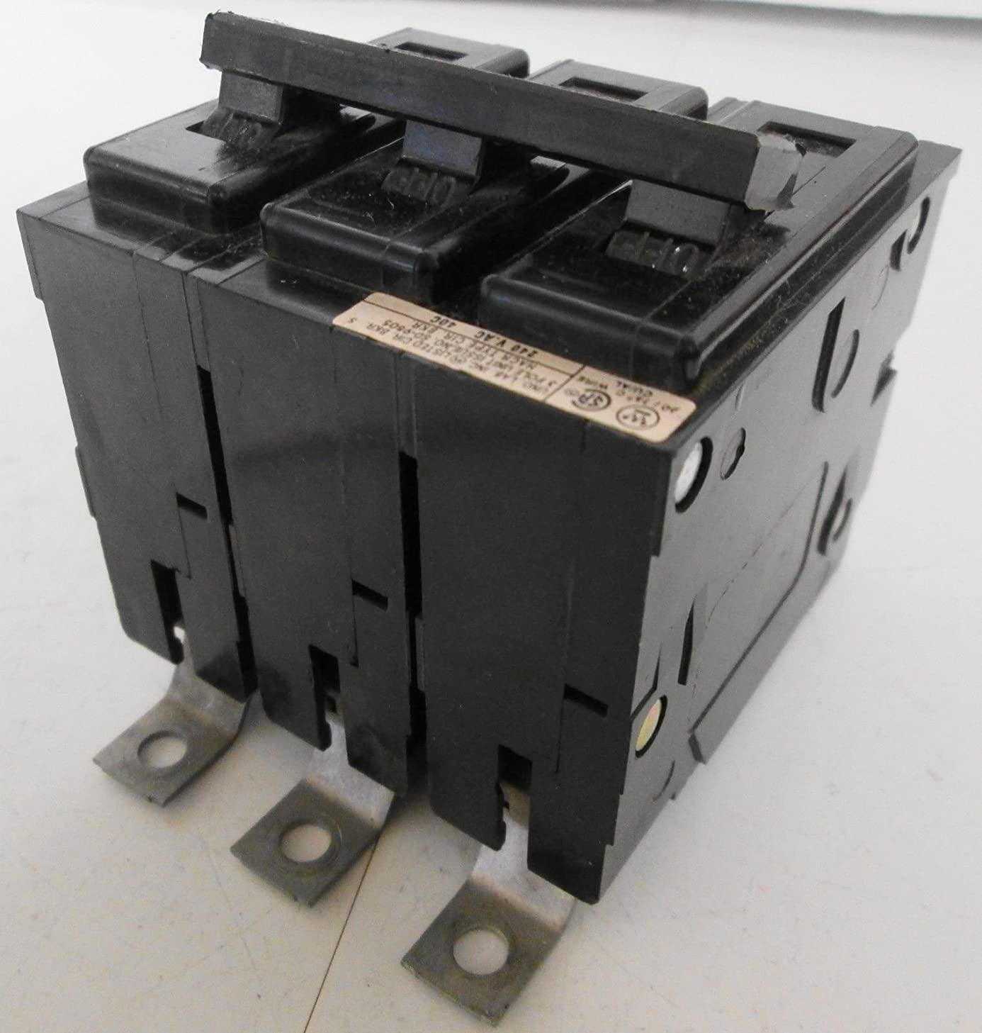1- Westinghouse (Cutler Hammer) BAB3015H 15 amp 3-POLE BA Circuit Breaker 3P