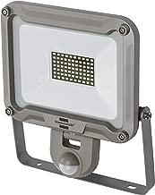 Brennenstuhl LED 室外射灯 JARO 5000P (适用于外部带运动探测器 用于壁挂安装 LED 泛光灯 50W 铝制 IP44) 银色