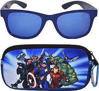 Avengers Kids Sunglasses with Kids Glasses Case,...