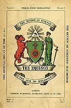 The Equinox: Keep Silence Edition, Vol. 1, No. 1
