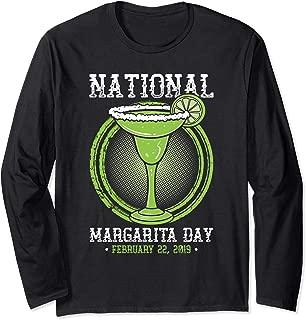 National Margarita Day February 22 2019 Drinking T Shirt