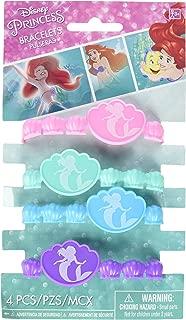 Rubber Bracelets | Disney Ariel Dream Big Collection | Party Accessory