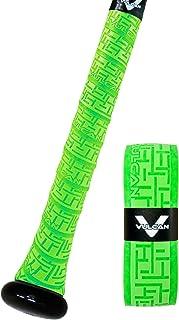 Vulcan 1.00mm Bat Grip Vulcan Sporting Goods Co Rojo Brillante V100-RED Cinta de Agarre para batear Unisex Adulto