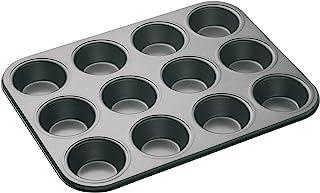 Masterclass 12-hole Non-stick Cupcake Tray / Baking Pan, 35 x 27cm