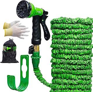 Expandable-Garden-Hose-Pipe-30m, Flexible Garden Hose Pipes, Flexi Hose 100ft for Lawn & Garden Watering-Equipment, Expand...