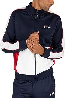 Fila Men's Michele Double Face Track Jacket, Blue