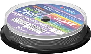 10 Verbatim Bluray 100gb BD-R XL Triple Layer 4x Speed Blu-ray Inkjet Printable Discs