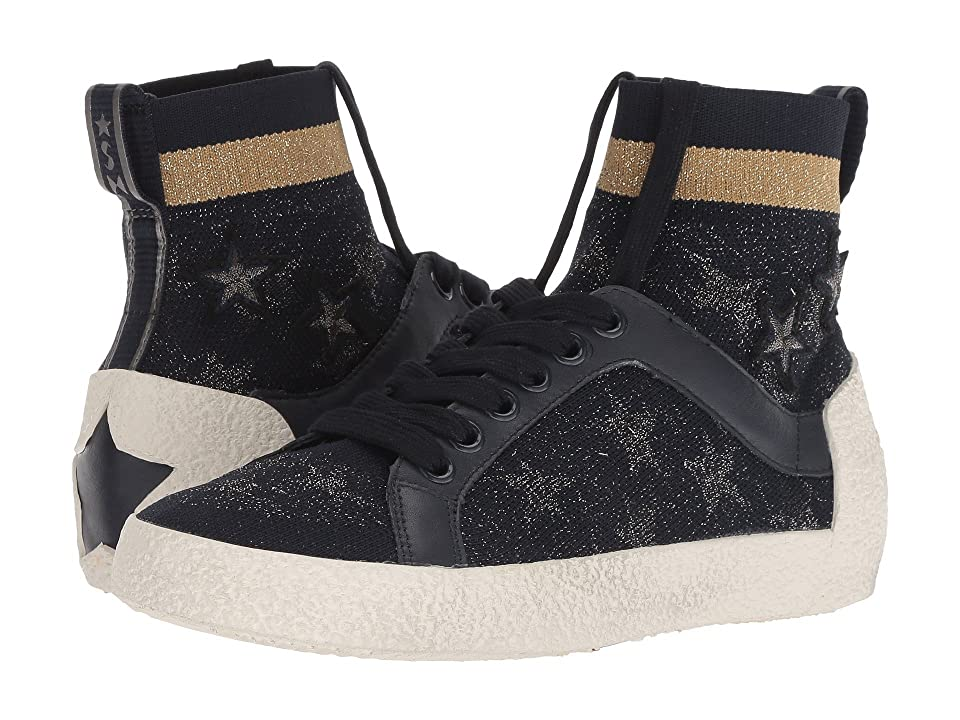 ASH Ninja Star (Navy Knit/Old Silver/Sand/Navy Calf) Women