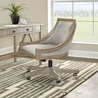 Linon Home Décor AMZN1131 办公椅,灰色洗涤