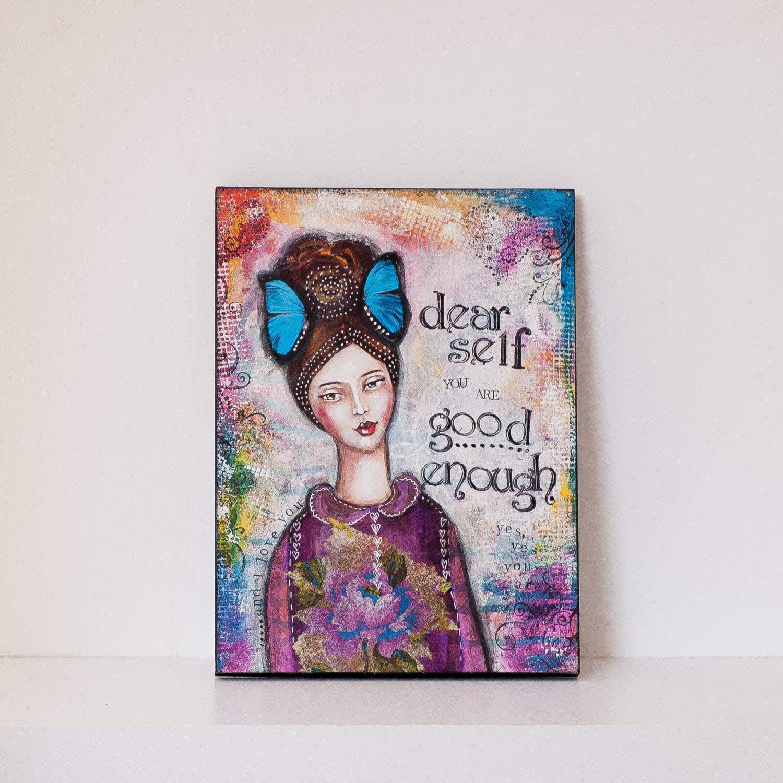 Ready to Hang Print on Wood Max 54% OFF - Wall Enou Art Good Inspirational Max 40% OFF