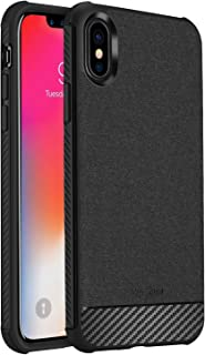 iPhone XS Case/iPhone X Case, ProCase Slim Hybrid Shockproof Protective Case Anti-Fingerprint Back Cover for 5.8 inch Appl...