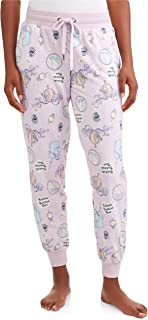 Disney Women's Cinderella Fairy Godmother Lavender Fantasy Pajama Ankle Pants