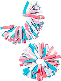 Pomchies POM-ID Luggage Tags: Pom Pom Keychain, Backpack Tags, Luggage Identifiers + Hair Bows - (2 Pack)
