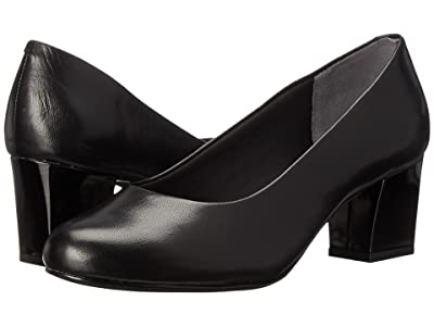 Trotters Candela (Black Dress Leather) High Heels